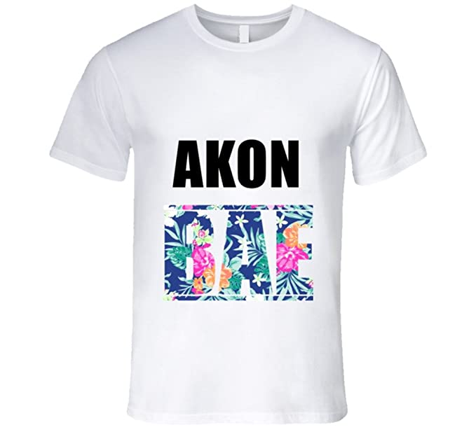 37d431aed496d AKON Before Anyone Else Bae Fan T Shirt M White  Amazon.ca  Clothing ...