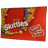 Skittles Fruit Sweets Pack of 36 Bags x55gm Packs Big Value Pack