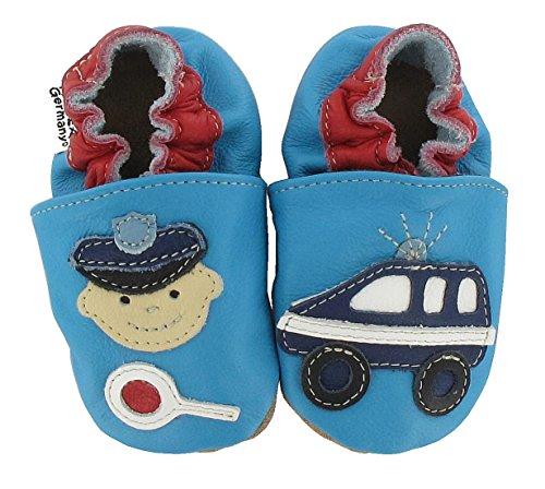 HOBEA Police - Zapatos Unisex bebé azul claro