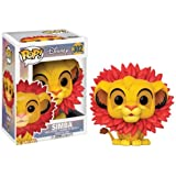Pop! Disney: The Lion King Leaf Mane Simba Vinyl Figure
