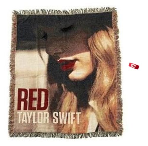 Taylor Swift Tapestry Woven Throw