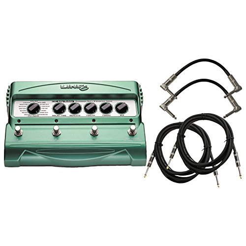 Line 6 DL4 Delay Modeler Pedal w/ 4 Guitar Cables