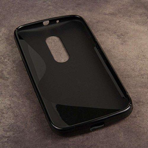 Moto G 2nd Gen Case, MPERO FLEX S Series Protective Case for Motorola Moto G (2nd Gen 2014) - Black