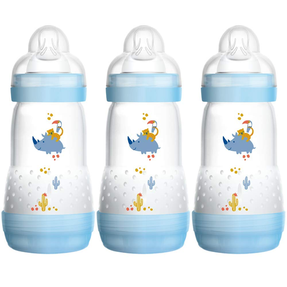 新素材新作 MAM Anti-Colic Self Sterilising B00O1LTFJQ Anti-Colic Bottle 260 ml Sterilising (3 Pack Blue/ White) B00O1LTFJQ, アマクサマチ:5156f717 --- a0267596.xsph.ru