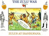 (US) The Zulu War - Zulus at Isandlwana Plastic Army Men: 16 piece set of 54mm Figures - 1:32 Scale by A Call to Arms