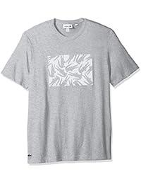 Men's Short Sleeve Jersey Multi Croc Regular Fit T-Shirt, TH3929