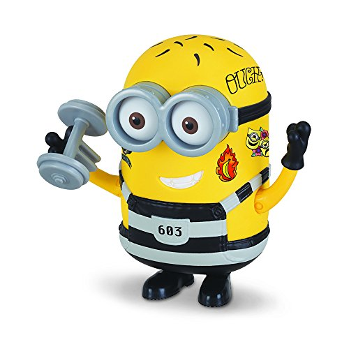 Despicable Me 3 Deluxe Action Figure Jail Time Tattoo (Minion Phil)