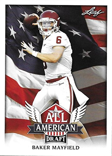 2018 Leaf Draft All-American #AA-02 Baker Mayfield Browns RC Rookie Football Card