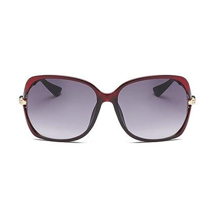 BiuTeFang Gafas de Sol Mujer Hombre Polarizadas Mujer Gafas de Sol Gafas Minimalista