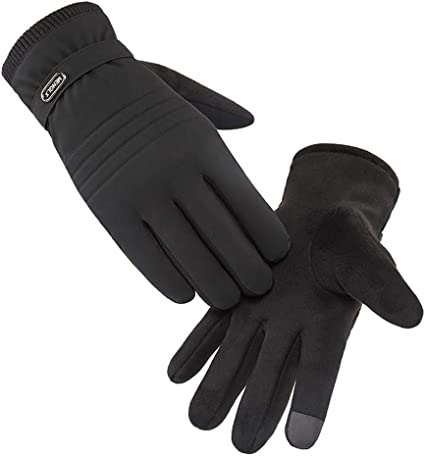 Warm Winter Bike Cycling Outdoor Sports Full Finger Gloves Touch Screen Mitten