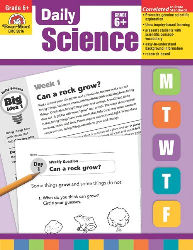 Daily Science, Grade 6 (Daily Practice Books): Evan Moor ...