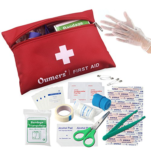Price comparison product image Oumers First Aid Kit Medical Bag Car Home Survival
