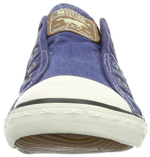 401 Llanos Zapatos 841 kombi 1099 Azul Mujeres blau Mustang nwvq8E0P5