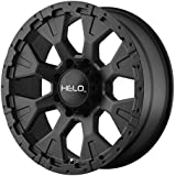 "Helo HE878 Wheel with Satin Black Finish (17x9""/5x5"")"
