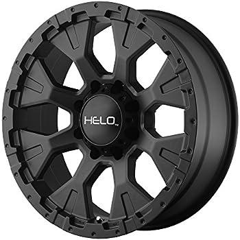 "Helo HE878 Wheel with Satin Black Finish (17x9""/6x5.5"")"