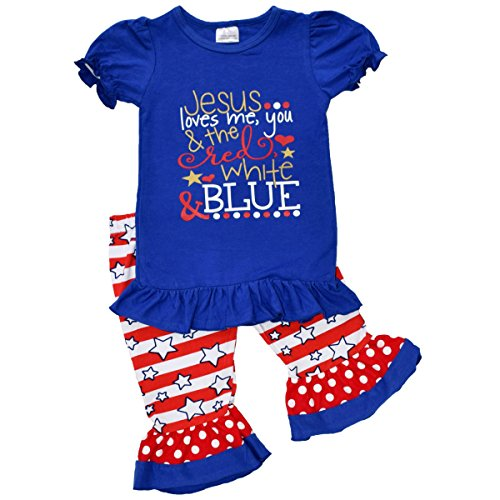 Red White And Blue Outfits (Unique Baby Girls