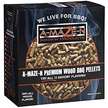 A-MAZE-N 100% Apple BBQ Pellets, 2 lb