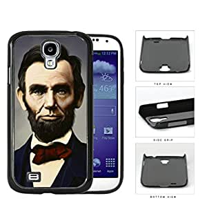 Abraham Lincoln Colored Portrait Hard Plastic Snap On Cell Phone Case Samsung Galaxy S4 SIV I9500