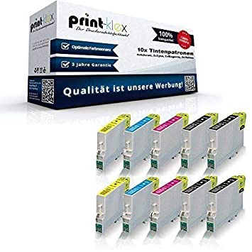 10 x cartuchos de tinta compatibles para Epson Stylus D68 D68 PE ...