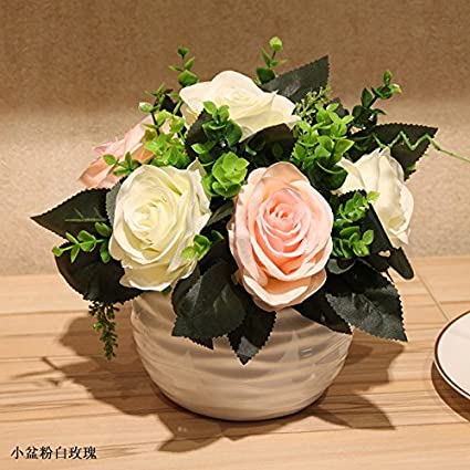 Amazon Com Emulation Flower Artificial Flowers Lily Roses Kit Home
