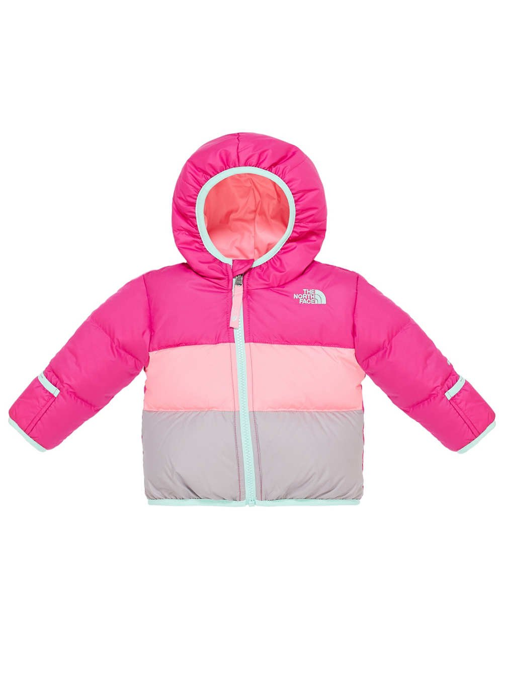 The North Face Moondoggy Jacket Infants (3M-6M, Luminous Pink)