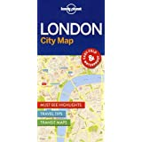 Lonely Planet London City Map 1st Ed.
