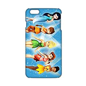 WWAN 2015 New Arrival tinker bell 3D Phone Case for iphone 6 plus