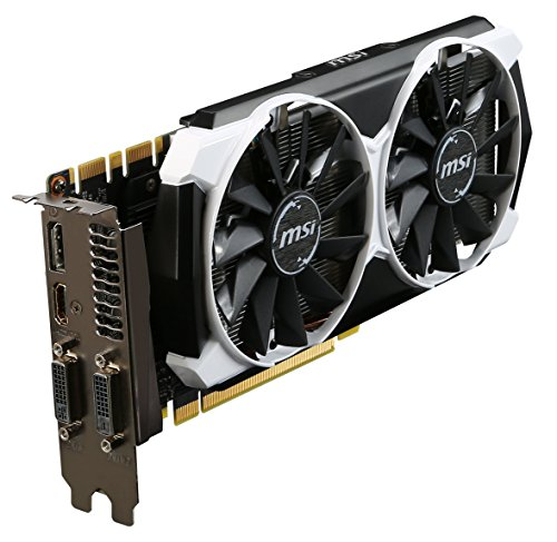 MSI GeForce GTX 970 - Tarjeta gráfica GeForce GTX 970 (ATX, HDMI, DL DVI-D*1 DL DVI-I *1, GDDR5, 128 M x 32 bit)