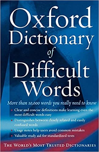 The Oxford Dictionary of Difficult Words: Amazon in: Archie Hobson