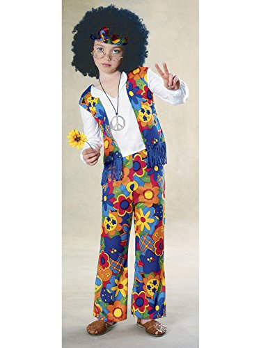 Big Boys' Hippie Costume -