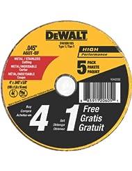 Dewalt DW8061B5 4 x 0.045 Inch Metal and Stainless Steel Cutt...