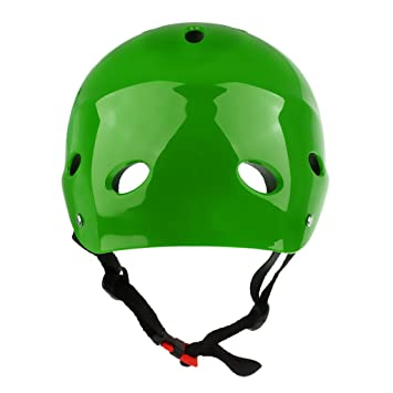 perfk Lightweight Safety Protection Water Sports Wakeboard Helmet Kayak Kite Surfing Ski Jet Ski Stand Up Paddleboarding Protector Hat Hard Cap for Adult Men Women Kids