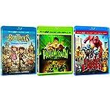 Blu-Ray 3D 3-Pack Eone/Alliance Fil