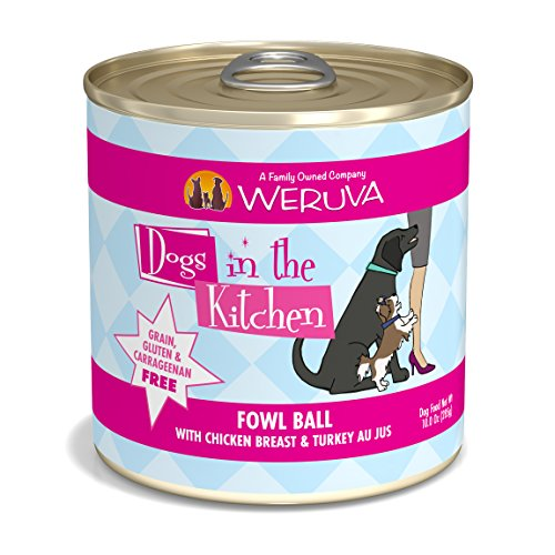 Weruva Dogs in the Kitchen, Fowl Ball with Chicken Breast &