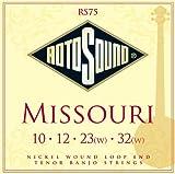 Rotosound RS75 Missouri Nickel Loop End Tenor Banjo Strings