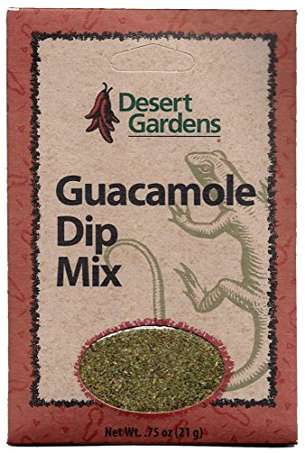 Desert Gardens Guacamole Dip Mix (Pack of 4)