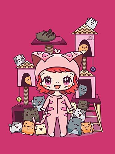 Kawaii Tote Moon Pink 38x42cm Kitty Mio Bag qB4wxS5UW