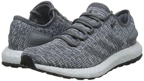 adidas PureBOOST - Zapatillas de running para Hombre, Rojo - (BURUNI/LINO/MAOSNO) Gris (Grey/dgh Solid Grey/clear Grey )