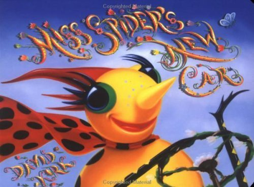 Miss Spider's New Car by David Kirk (1999-05-03) ()