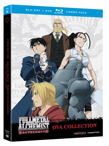 Fullmetal Alchemist: Brotherhood - OVA Collection (Blu-ray/DVD Combo Pack) [Blu-ray] by Funimation