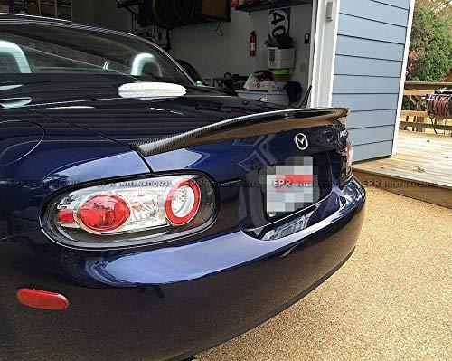 FidgetFidget Spoiler for Mazda MX5 NC NCEC Roster Miata EPA Type 3 Carbon Rear (Hard Top Only)