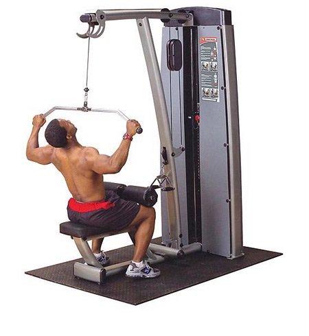 Body-Solid Pro Dual Lat & Mid Row Machine Ironcompany.com