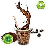 100-Pz-Bicchieri-Caffe-di-Carta-Biodegradabili-Biocompostabili-Tazzine-75ml-100-Pz-Palettine-Legno-Betulla