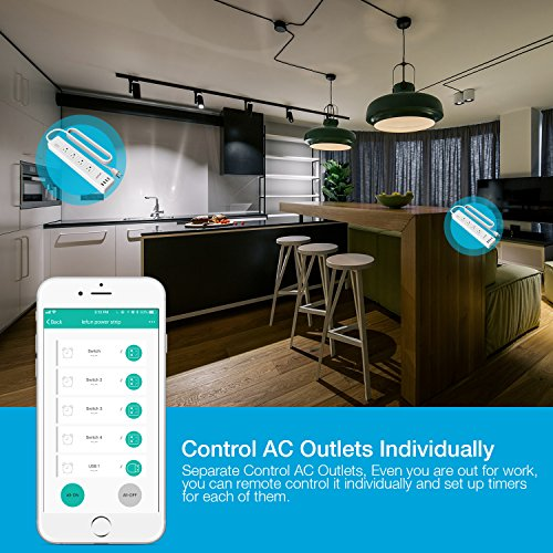 Control AC outlets individually