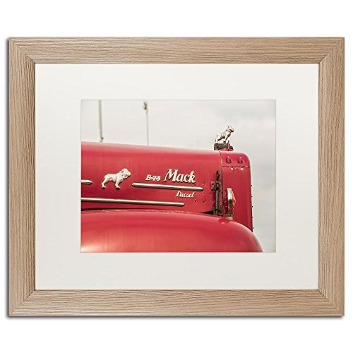 vintage mack truck bulldog - 9