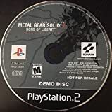 Metal Gear Solid 2 Sons of Liberty DEMO DISC