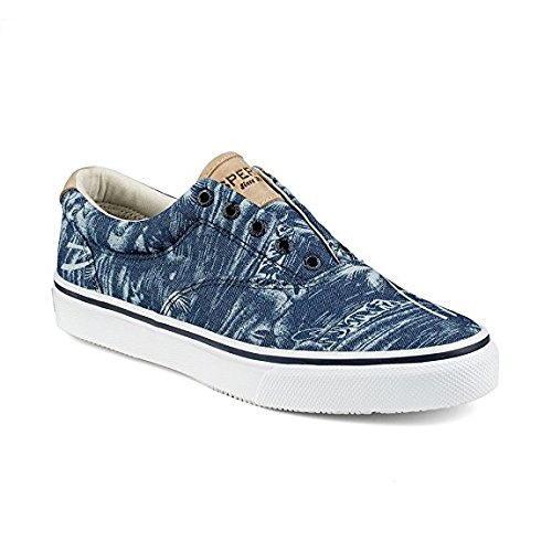 Baskets Homme Blue Laceless Striper Sperry A0wqHTxx