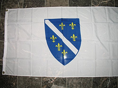 - 3x5 Bosnia Bosnian 1992-1998 Shield