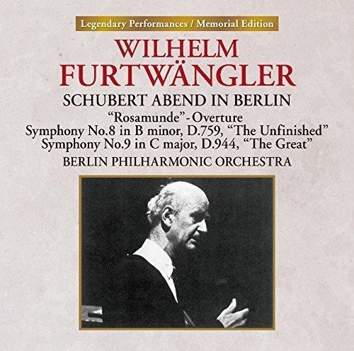 ヴィルヘルム・フルトヴェングラー ベルリン・フィルハーモニー管弦楽団 / ベルリンのシューベルト・アーベント
