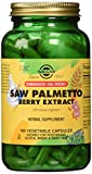 Solgar – Standardized Full Potency Saw Palmetto Berry Extract, 180 Vegetable Capsules